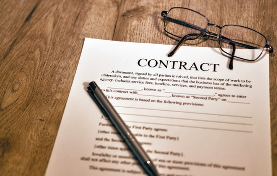 A contract looked over by a Business Lawyer in Mt. Pleasant SC