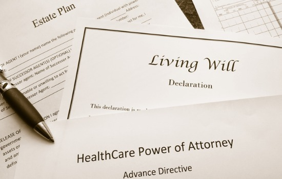 Several documents related to Estate Planning in Mt. Pleasant SC